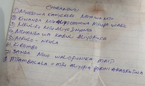 mweso wa kanyerere