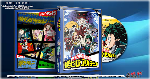 Boku no Hero Academia 4th Season | Cover DVD |