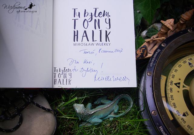 Wiedźmowa głowologia, biografia, Tony Halik, Elżbieta Dzikowska, rozmowa autorska, autograf, wydawnictwo Agora