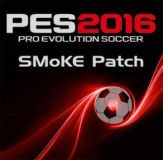 Patch PES 2016 Terbaru dari SMoKE Patch 8.3 AIO