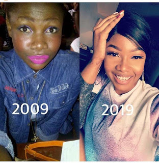 Throwback photos of Tacha