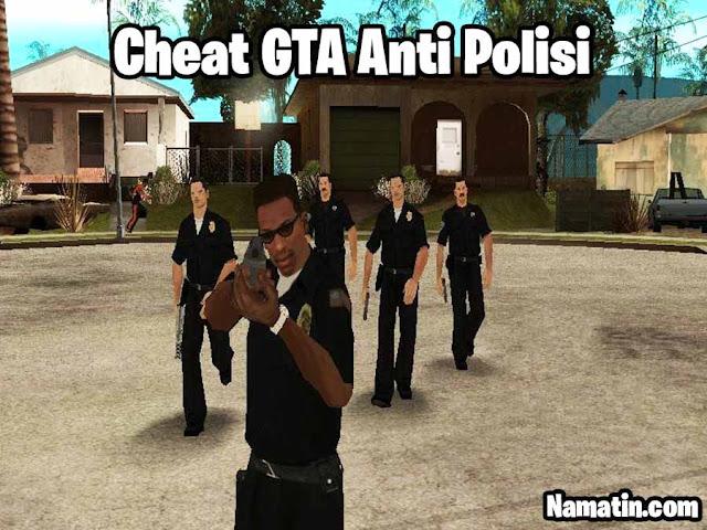 cheat gta ps2 anti polisi