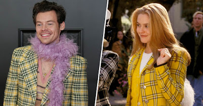 When Two INYIM Media Inspirations Collide: Alicia Silverstone Applauds & Sends Adoration To Harry Styles' 'Clueless' Grammys Ensemble!