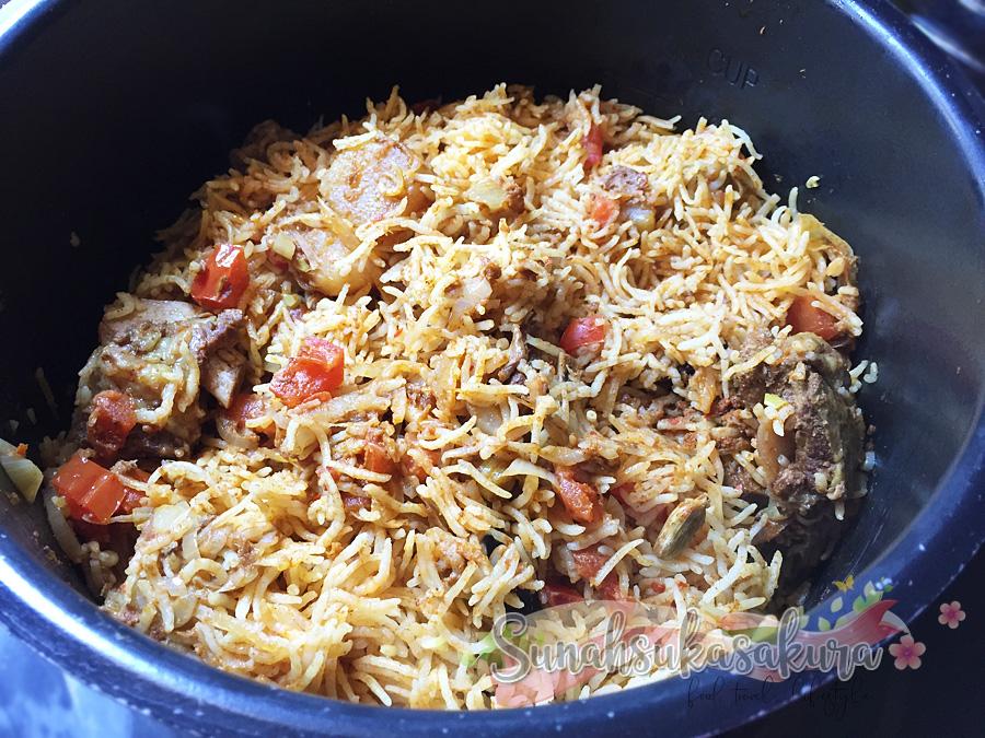 Nasi Kari Kambing Adabi, Boleh Tahan Sedap dan Senang!