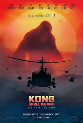 Póster película Kong La isla calavera - 2017