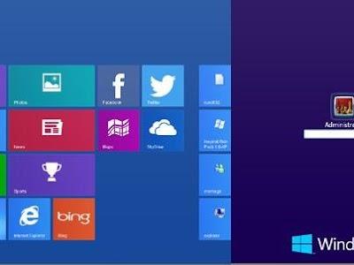 تحويل واجهة ويندوز Xp إلى واجهة مشابهة لواجهة ويندوز 8