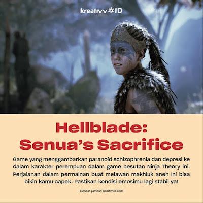 Game Hellblade Senua's Sacrifice Peduli Dengan Kesehatan Mental