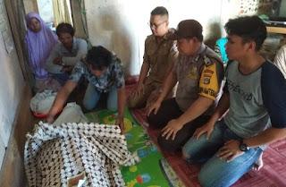 Polsek Dente Teladas Identifikasi Penemuan Mayat Nelayan