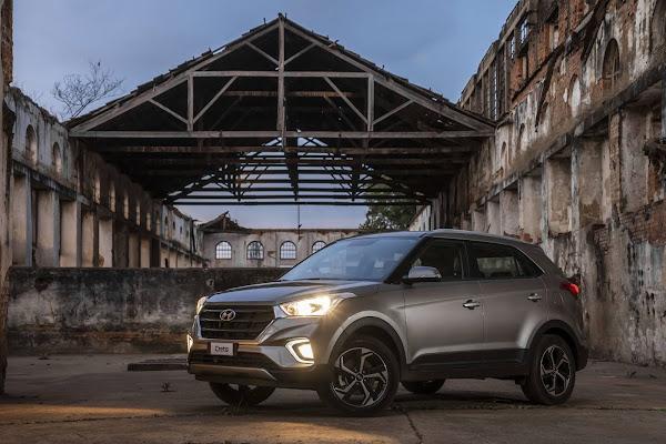 Hyundai comemora a produção de 200 mil Creta no Brasil