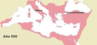 Imperio Bizantino año 550