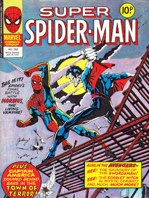 Super Spider-Man #258, Morbius, Paul Gulacy cover
