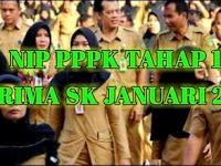 NIP PPPK Tahap 1 Terima SK Januari 2021, Alhamdulillah