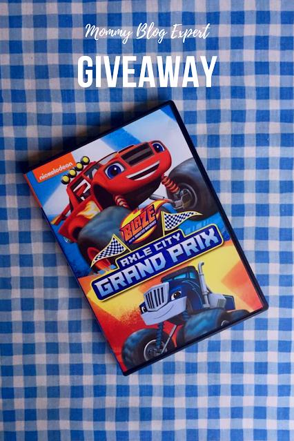 Blaze Monster Machines Axle City Grand Prix Giveaway