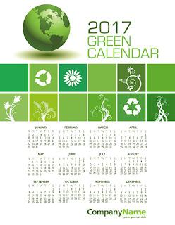 2017カレンダー無料テンプレート72
