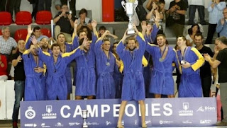 WATERPOLO - El Atlétic Barceloneta sigue siendo el dominador de la liga española
