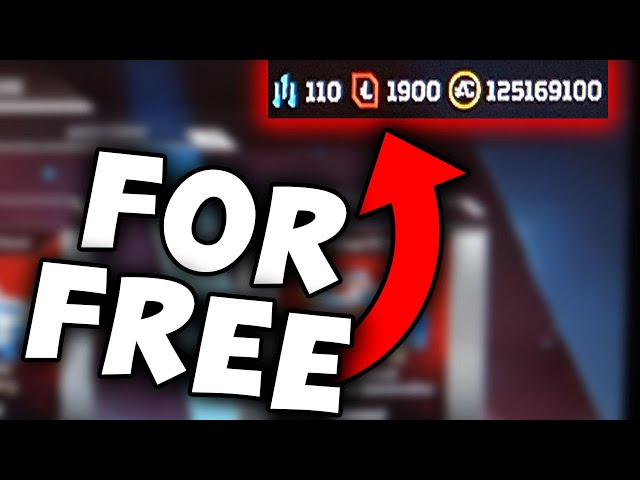Get Apex Legends Unlimited Coins For Free! Working [2021]