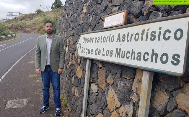 Cabildo adjudica el proyecto para remodelar la carretera del Roque de Los Muchachos