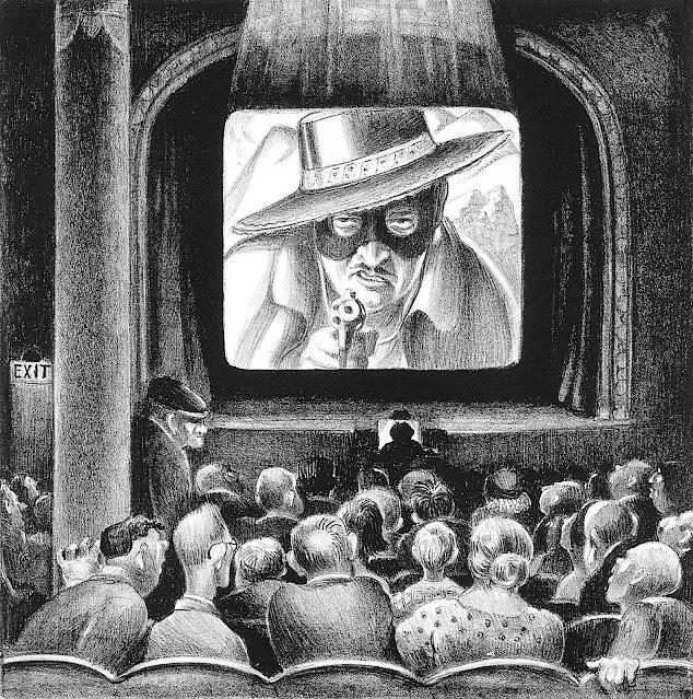 a Mabel Dwight print 1925, the cinema