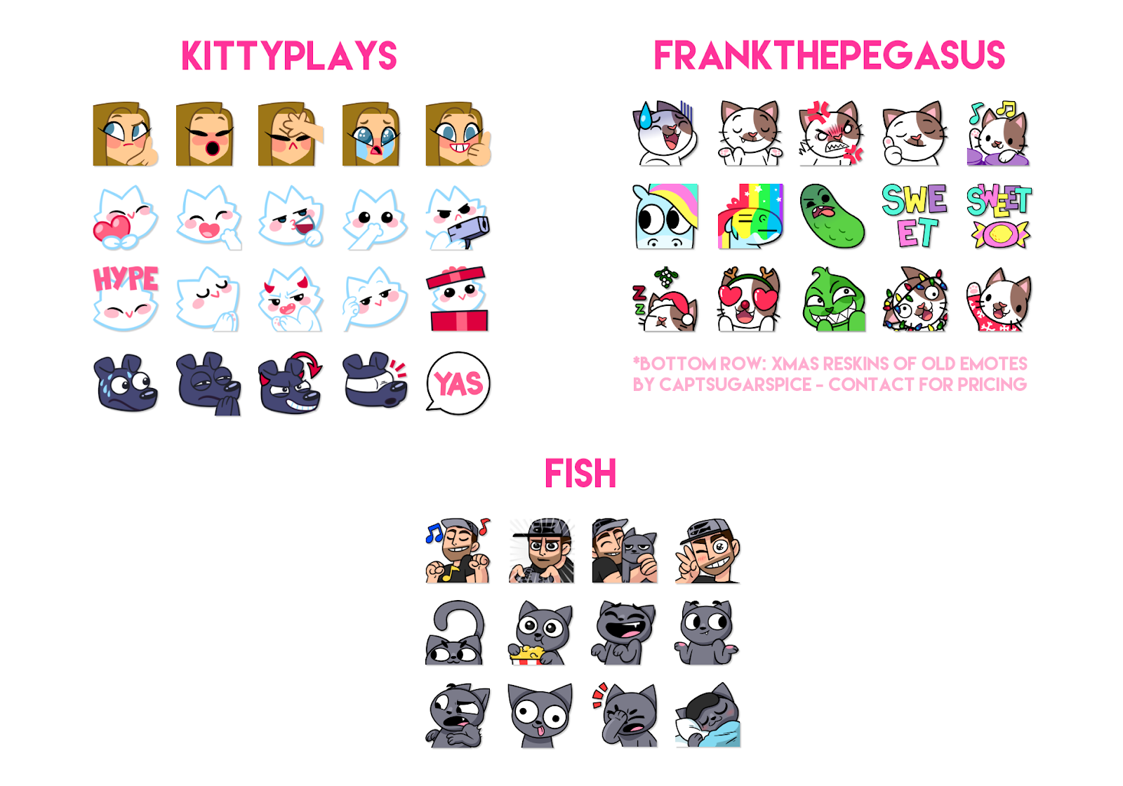 NIC ter HORST - ♡ Twitch Emotes & Animation ♡