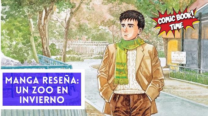 "Manga reseña: ""Un zoo en invierno"" de Jiro Taniguchi"