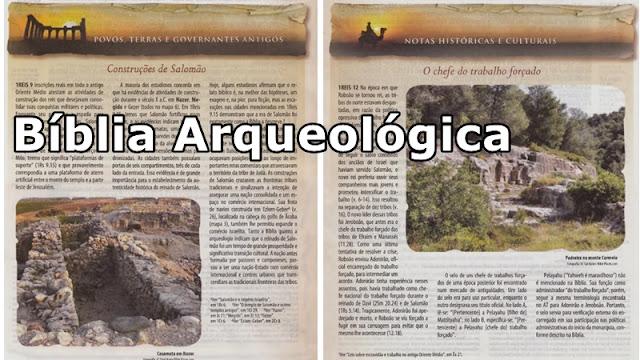 Recursos biblia arqueológica