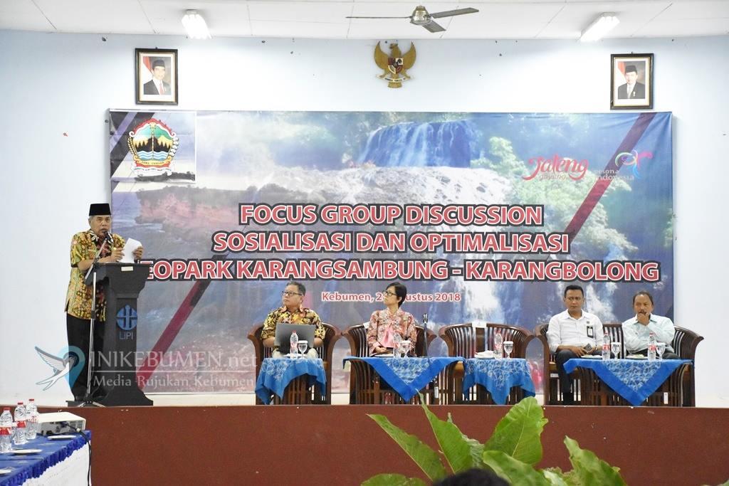 Kemenpar RI Dorong Karangsambung-Karangbolong jadi Unesco Global Geopark
