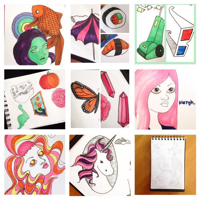Sketchbook Round-Up: Volume 6 | Yeti Crafts