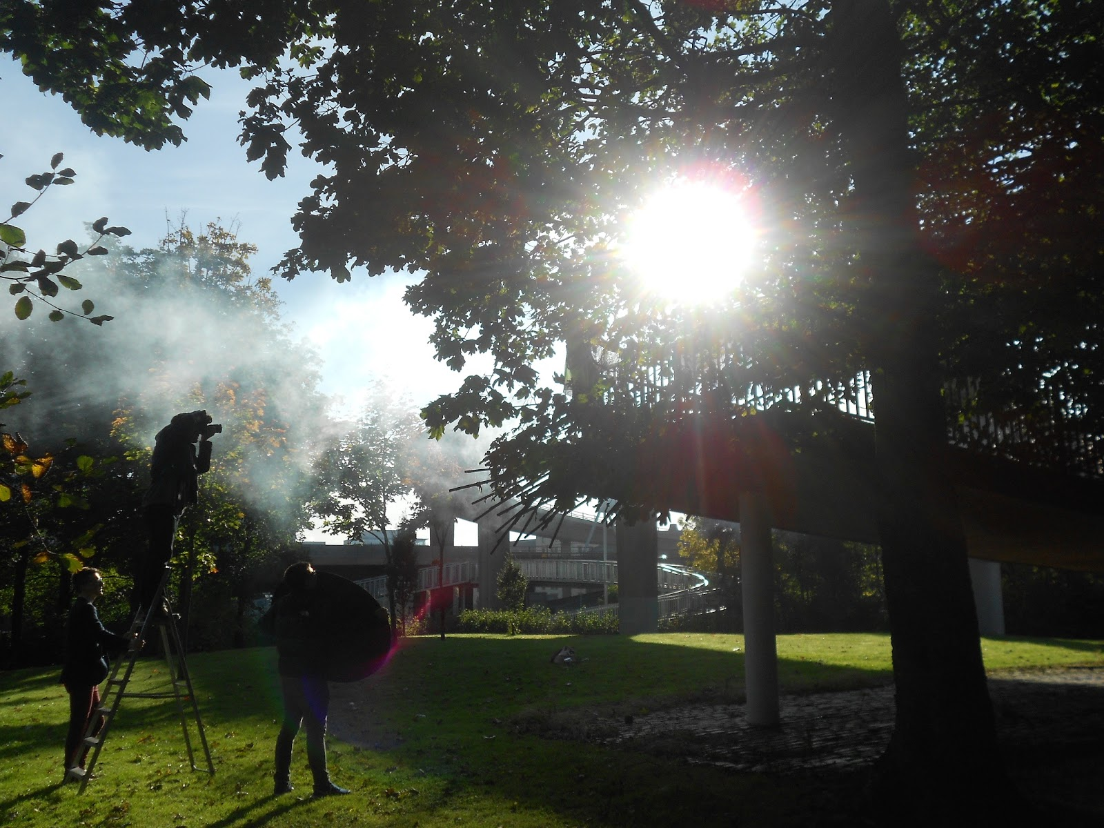 Smoke bombs and early rises: Behind the scenes with GUM - Bee Waits