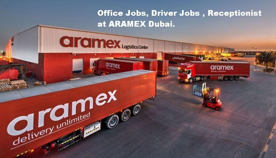 Office Staff Drivers Jobs In Aramex Dubai Openings 2018 Latest