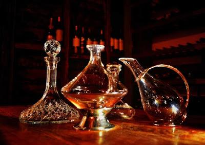 Wine Decanters.