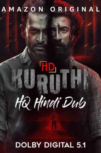 Kuruthi 2021 480p 400MB WEBRip Hindi Dubbed MKV