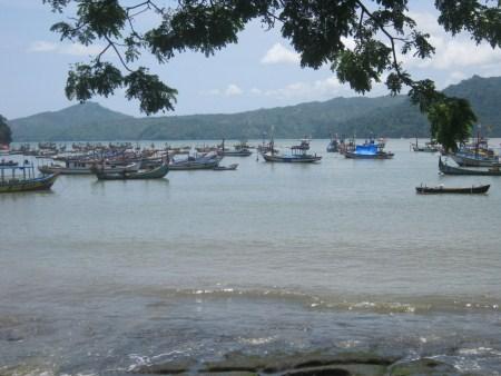 Panorama Pantai Indah Popoh Tulungagung