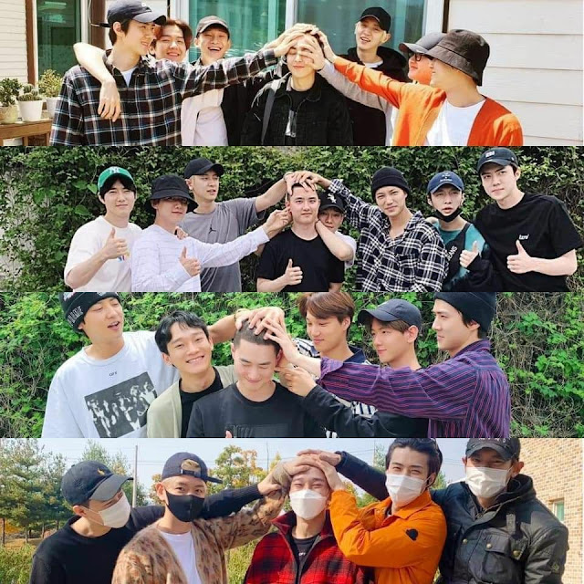 Hayranlar EXO'nun KPOP grupları arasında en dikkat çekici kardeşliğe sahip olduğuna inanıyor
