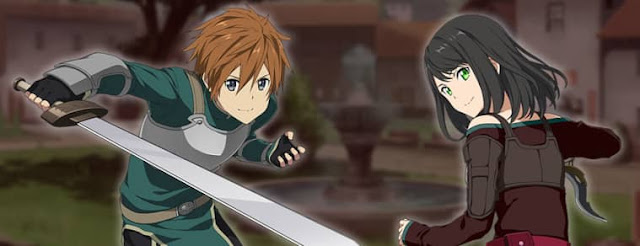 Protagonist and Heroine of the game