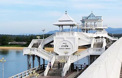 View from Sarasin Bridge when leaving Phuket