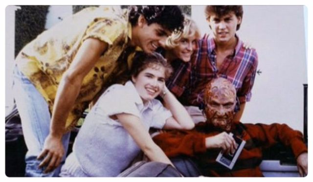 Behind the scene horror movie pictures