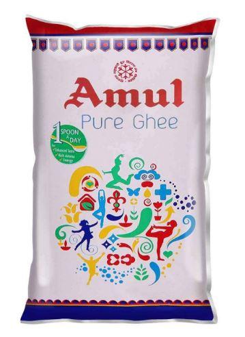 Amul pure ghee. 1 LTR ghee Pouch