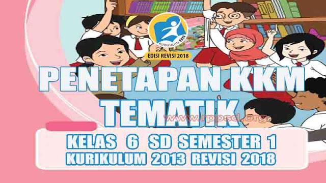 Kelas 6 SD Kurikulum 2013 Revisi 2018