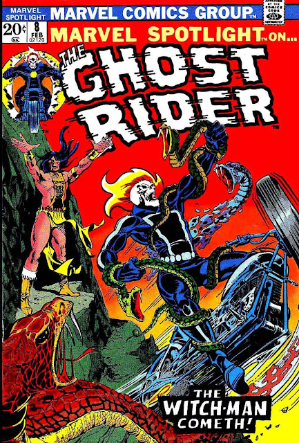 Motoblogn Classic Ghost Rider Comic Book Covers