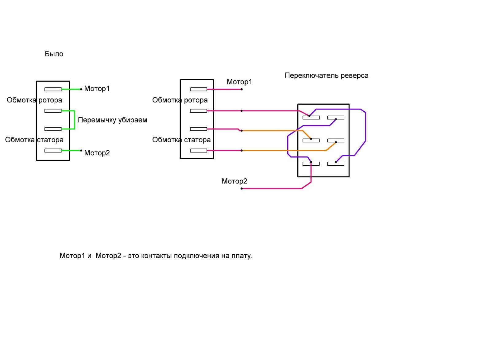 Электродвигатель коллекторный схема подключения фото 660
