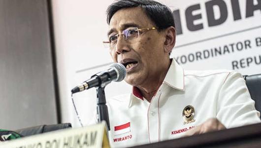 Wiranto: Dalang Rencana Pembunuhan 4 Pejabat Sudah Diketahui