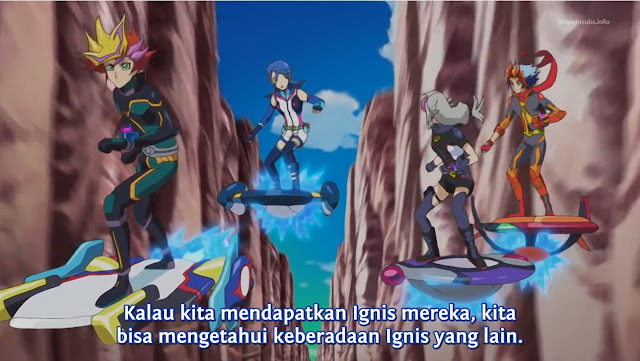 Yu-Gi-Oh! Vrains Episode 55 Subtitle Indonesia