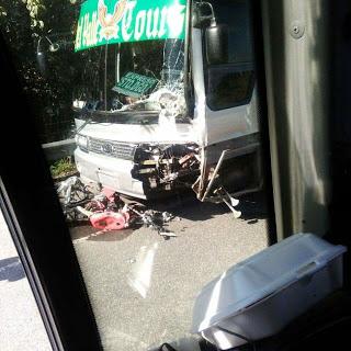 Guagua mata a un sargento y su esposa en la carretera Sánchez