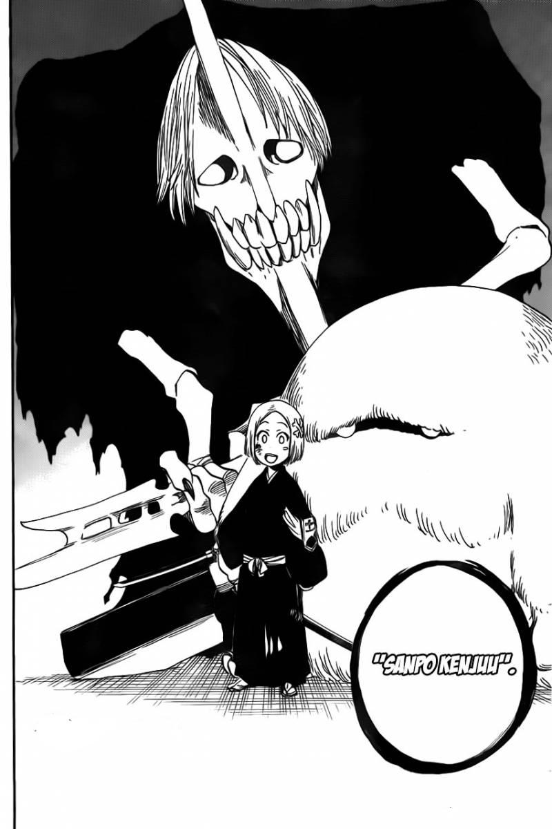 Yachiru is Nozarashi, and Kenpachi might go bankai  : bleach