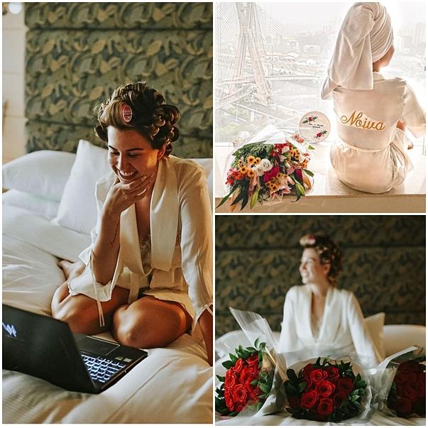 Detalhes do casamento da influenciadora digital Fabi Santina