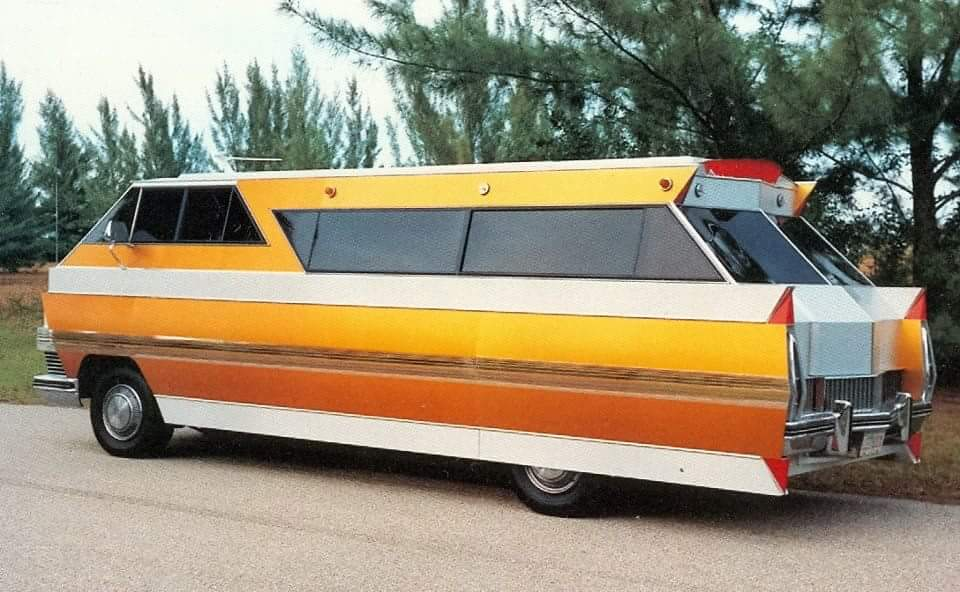 Rv Hall Of Fame >> Just A Car Guy: the 1971 Star Streak motor homes and 1976 Star Streak II, built on a Caddy ...