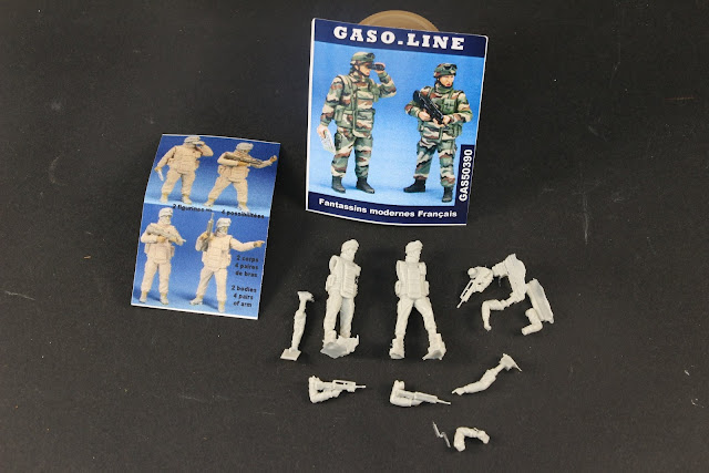 Soldats français moderne Gaso.line 1/48