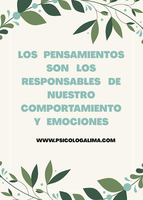 pensamientos y psicología Perú