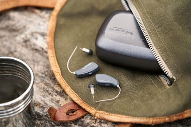 What are rechargeable hearing aids?
