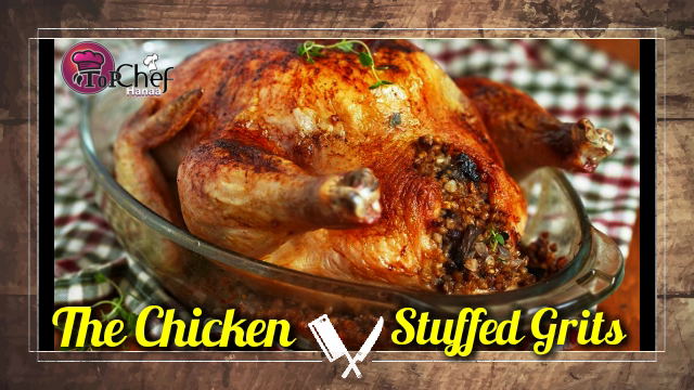 The Chicken Stuffed Grits